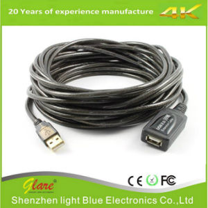 Top Quality 5m USB 2.0 Active Repeater Cable Extension pictures & photos