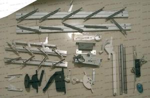 Aluminium Handle Lock for Screen Window Hardware Accessories pictures & photos