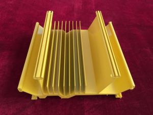 Factory Sale 6000s Extrusion Powder Coating Aluminium Profile for Heat Sink pictures & photos
