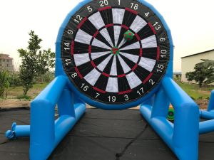 Inflatable Soccer Football Board Valcro Soccer Darts Sport Game pictures & photos
