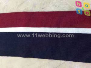Clothing Accessories Striped Webbing Ribbon for Hat Made Polyester Webbing pictures & photos