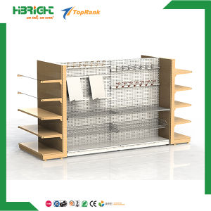 Supermarket Equipment Perforated Back Panel Retail Gondola Shelving pictures & photos
