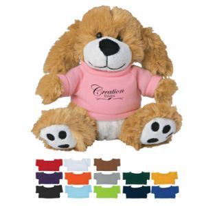 Cheap Promotional Plush Toy in Colorful T-Shirt pictures & photos
