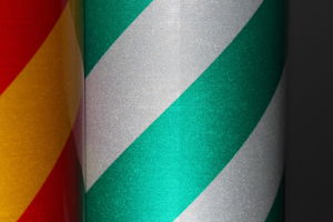 Warning Reflective Stripe Tape pictures & photos