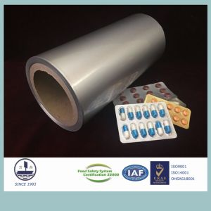 Unprinted Alloy 8021 Cold-Stamping Molding Aluminum for Pharmaceutical Packaging pictures & photos
