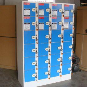 Store Supermarket Storage Cabinet Steel Locker pictures & photos
