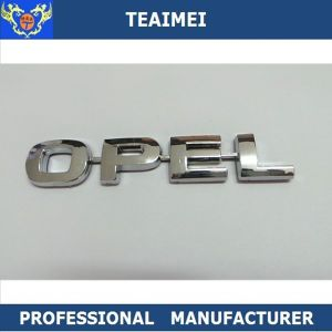 Custom Auto Parts 3D Logo Chrome Letter Nameplate Car Letter Emblem pictures & photos