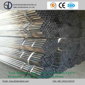 Carbon Round Black Annealed Steel Pipe pictures & photos