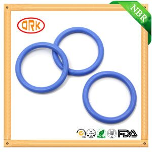 Blue High Temperature and Acid Resistant Fluorosilicone O Ring Seals pictures & photos