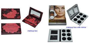 Custom Cmyk Print Makeup Box with EVA Insert/Cosmetic Box pictures & photos