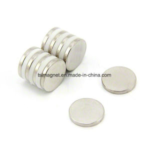 Sintered Rare Earth Permanent Disc NdFeB Magnets pictures & photos