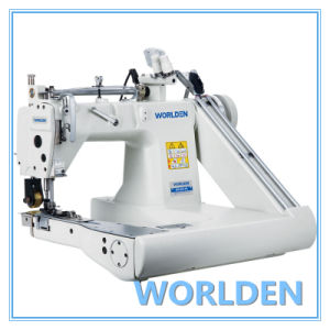 Wd-927-Pl High-Speed-Feed-off-The-Arm Chainstitch Machine (Two Needle) pictures & photos