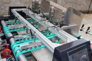 Double Channel Window Patching Machine (GK-1080T) pictures & photos