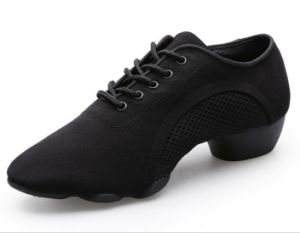 Women and Men′s Breathable Mesh Dance Sneaker pictures & photos
