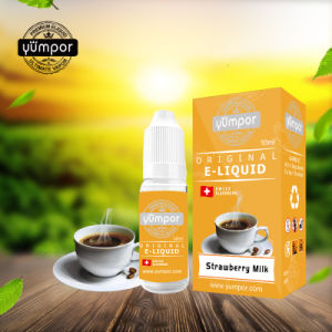 Yumpor Factory Origin Smoking Ejuice Strawberry Milk 10ml pictures & photos