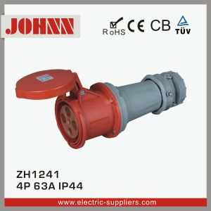 IP44 4p 63A Surface Mounted Industrial Plug pictures & photos