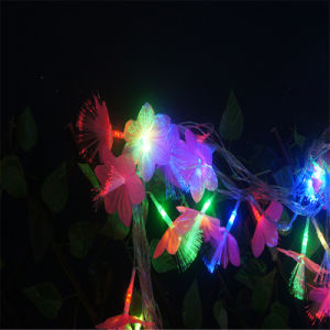 Bo Light String with Fiber Flower for Decoration pictures & photos
