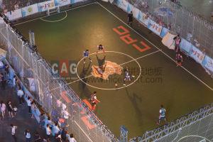 Cag Interlocking PP Material Indoor Futsal Court Flooring, Modular Futsal Court Tile