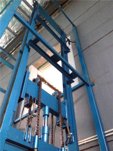 2000kg Hydraulic Vertical Guide Rail Cargo Lifting Equipment (SJD2-3.6) pictures & photos