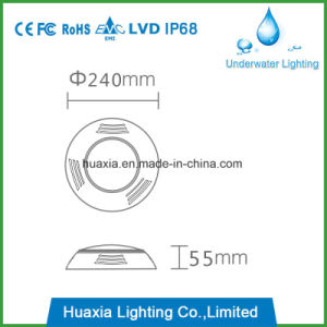 42W Resin Filled LED Underwater Swimming Pool Light pictures & photos