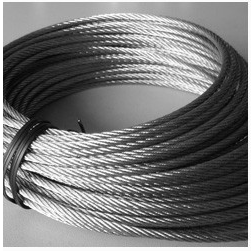 Galvanized, Ungalvanized Type and Non-Alloy Steel Wire Rope pictures & photos