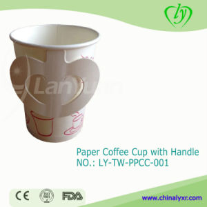 Disposable Coffee Paper Cup with Handle pictures & photos