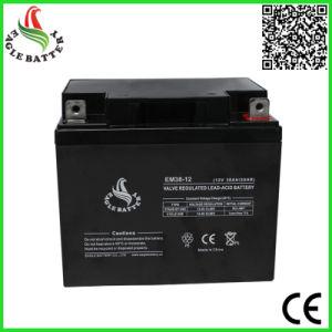 12V 38ah VRLA Sealed Lead Acid Battery for UPS