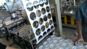 Plastic Cover Thermoforming Machine Price pictures & photos