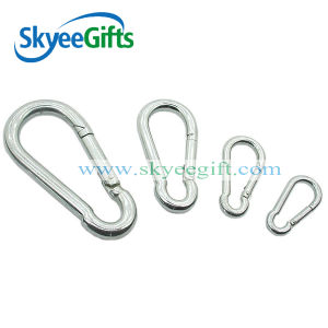 Fashion High Quality Metal Silver Color Carabiner pictures & photos