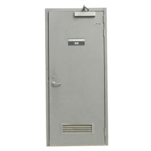 Steel Wood Composit Security Fire Door pictures & photos
