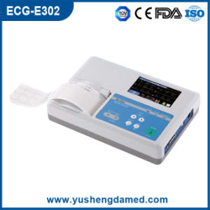 Ce ISO Approved Three Channel Full Digital ECG Machine pictures & photos