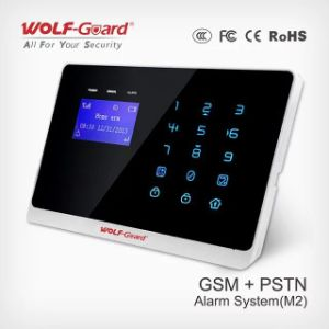 Anti-Theft Wireless GSM+PSTN Alarm with Touch Keypad and Cid (YL-007M2) pictures & photos