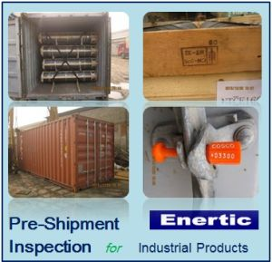 Pre-Shipment Inspection for Industrial Products