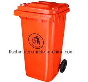 120L/240L/360L/660L/1100L Plastic Dustbin with Open Top Structrue and Two/Four Wheels pictures & photos