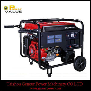 Home Use China 6kw Portable LPG Power Generator (ZH7500LPCT) pictures & photos
