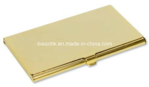 Promotion Gift Aluminum Name Cardholder with OEM Logo pictures & photos