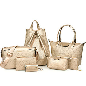 Wholesale Fashion Handbag 6 in 1 Bag Set (SY6459) pictures & photos