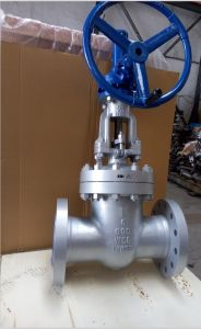 Alloy Steel Wc6 Body Flange End Gate Valve