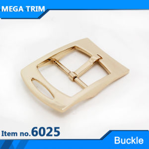 Light Gold Pin Roller Metal Buckle pictures & photos