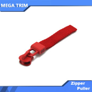 Red Zipper Slider with Wovern Tape pictures & photos