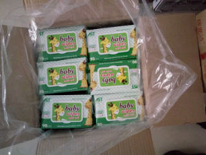 90PCS Thick Nonwoven Cotton Wipes Aloe Vera & Vitamin E Baby Wipes pictures & photos