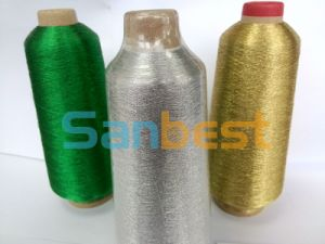 Metallic Embroidery Thread with Rayon Core Yarn pictures & photos