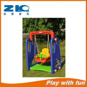 Indoor Playground Kids Plastic Swing on Sell pictures & photos