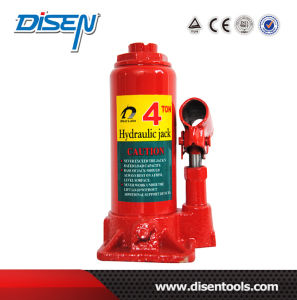 4 Ton Max Height 338mm Hydraulic Bottle Jack Serie