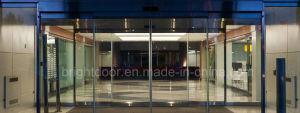 Lock Automatic Sliding Glass Door pictures & photos