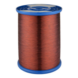 Magnet Wire Class 130 Nylon/Polyester Round Copper Wire pictures & photos