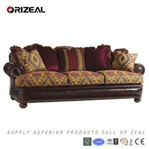 Living Room Jackson Leather Sofa (OZ-SF-033) pictures & photos