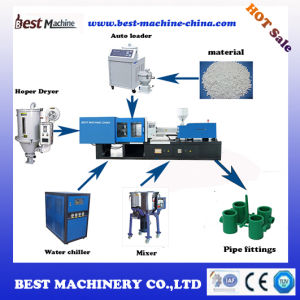 High Hardness Plastic Pipe Injection Moulding Machine pictures & photos
