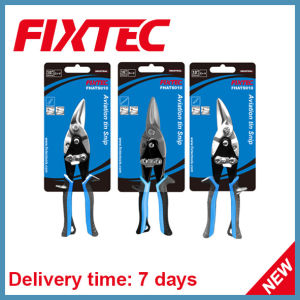 "Fixtec 10"" High Quality CRV Hand Tool Antiviation Tin Snip pictures & photos"
