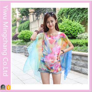2016 Latest Design Chiffon Scarf Multifunction Beach Towel (46783) pictures & photos